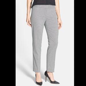 Anne Klein Microcheck Slim Leg Ankle Pants NWT 8